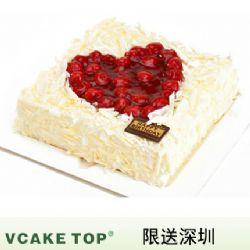 深圳vcake蛋糕/37度爱(6寸/1.5磅)
