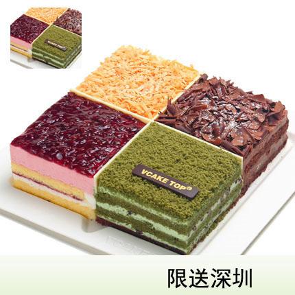 深圳vcake蛋糕/四季绽放(6寸/1.5磅)