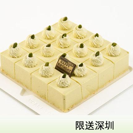 深圳vcake蛋糕/�_心果慕斯 (6寸/1.5磅)