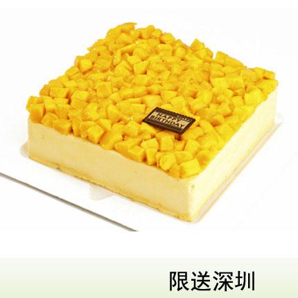 深圳vcake蛋糕/芒果慕斯(6寸/1.5磅)(提前一天�A�)