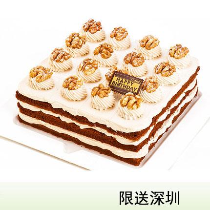 深圳vcake蛋糕/咖啡核桃(6寸/1.5磅)