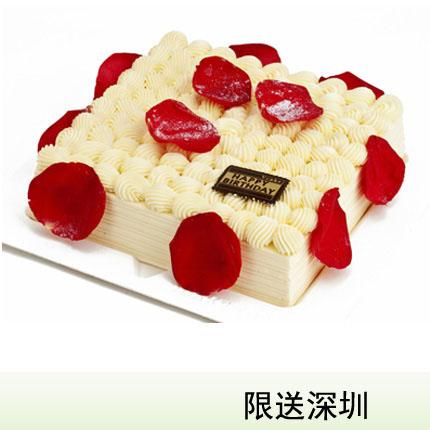 深圳vcake蛋糕/百利情人(6寸/1.5磅)