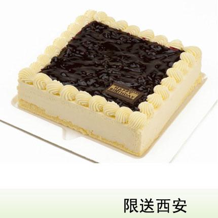 西安vcake蛋糕/�{莓慕斯(6寸/1.5磅)