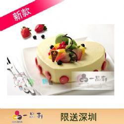 一品轩蛋糕/百香果芝士慕斯(6寸)