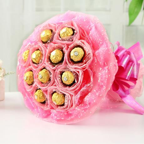 11颗费列罗巧克力/最美的你