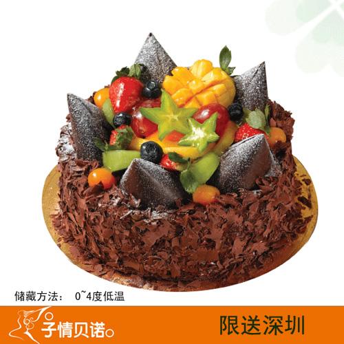 深圳子情贝诺蛋糕/森林之皇(6寸)
