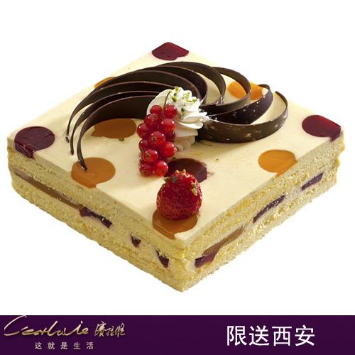 西安赛拉维蛋糕/缤纷(6寸)