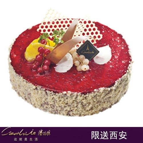 西安赛拉维蛋糕/迷情style(6寸)