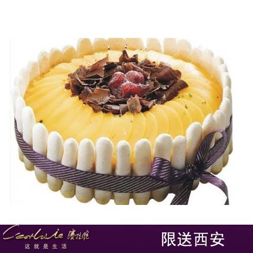 西安赛拉维蛋糕/蜜桃成熟时(6寸)