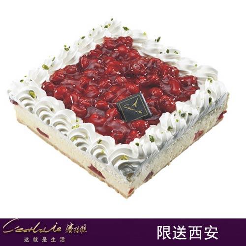 西安赛拉维蛋糕/樱桃酸酪(6寸)