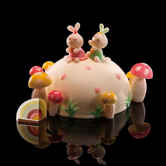 黑天鹅蛋糕/彩虹乐园(家庭版)(8寸)