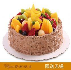 香榭丽舍蛋糕 果之盛宴  水果蛋糕