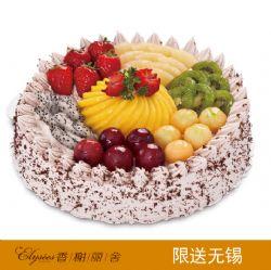 香榭丽舍蛋糕 浓情巴拿马  水果蛋糕
