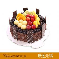 香榭丽舍蛋糕  果色添香  巧克力蛋糕