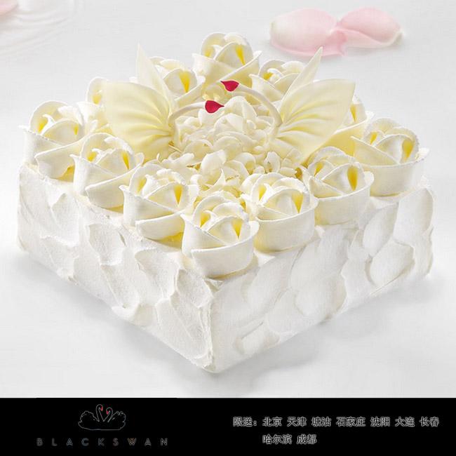 黑天�Z蛋糕/天使之�郏�6寸)