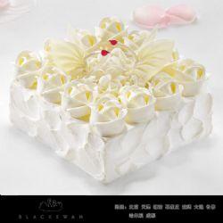 黑天鹅蛋糕/天使之爱(6寸)