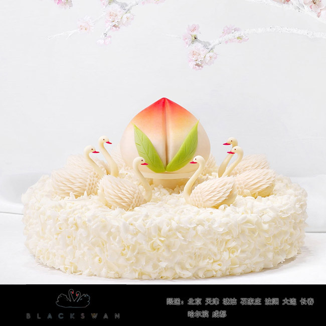 黑天�Z蛋糕/八仙祝��(10寸)