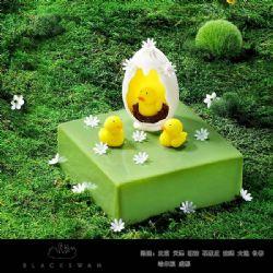 黑天鹅蛋糕/天鹅宝贝(6寸)