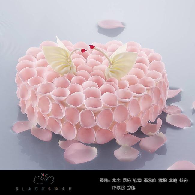 黑天�Z蛋糕/心舞(8寸)