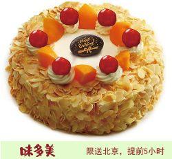 北京味美多蛋糕 华尔兹蛋糕(6寸)