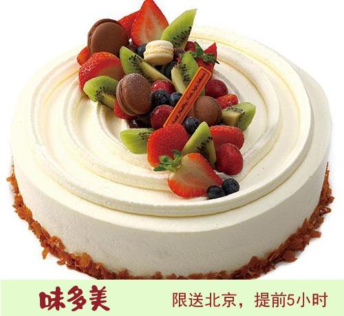 北京味美多蛋糕 水果物语蛋糕   (6寸)