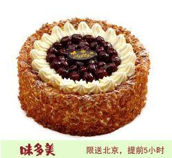 北京味美多蛋糕 樱桃森林蛋糕    (6寸)