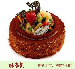 北京味美多蛋糕  圆舞曲蛋糕  (6寸)