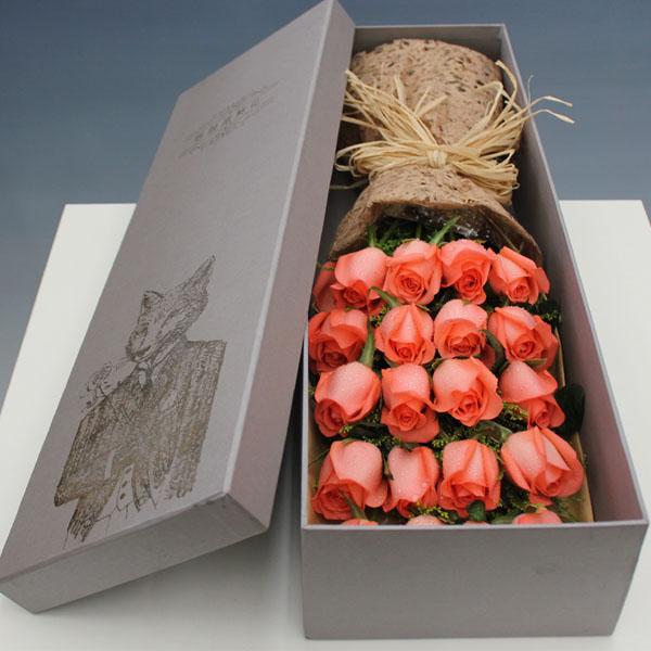 礼盒/19枝粉玫瑰