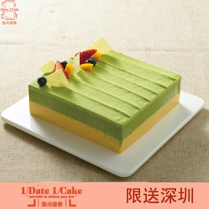 壹�c壹客蛋糕/宇治抹茶(6寸)