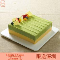 壹点壹客蛋糕/宇治抹茶(6寸)