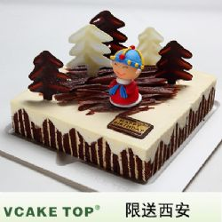 西安vcake蛋糕/欢乐树(6寸/1.5磅)