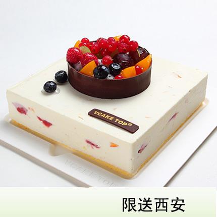 西安vcake蛋糕/�_果雪慕(6寸/1.5磅)