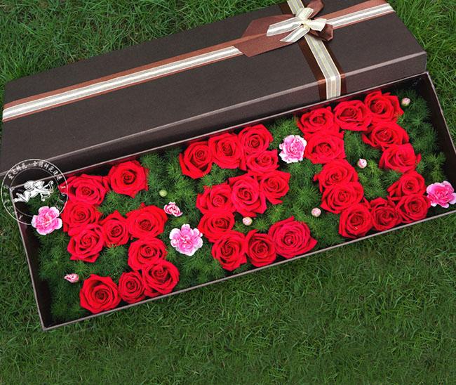 礼盒/33朵红玫瑰