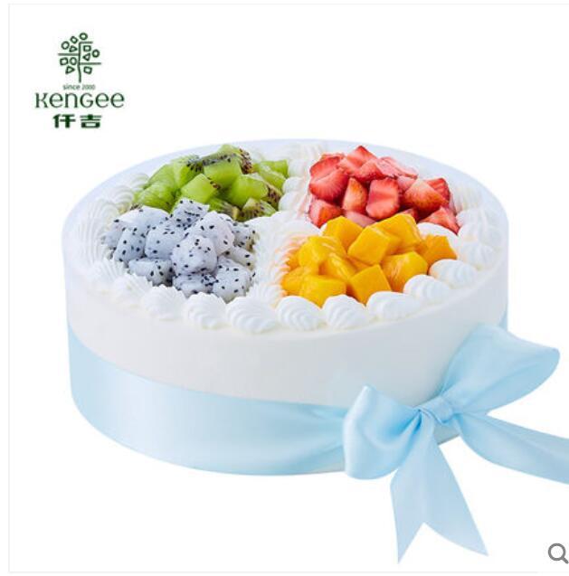仟吉蛋糕 鲜奶水果蛋糕