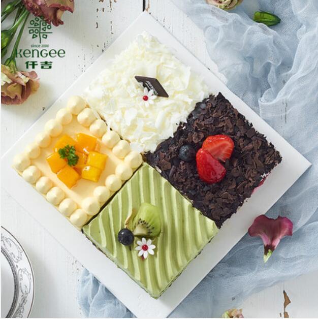 仟吉蛋糕 四季缤纷拼接生日蛋糕