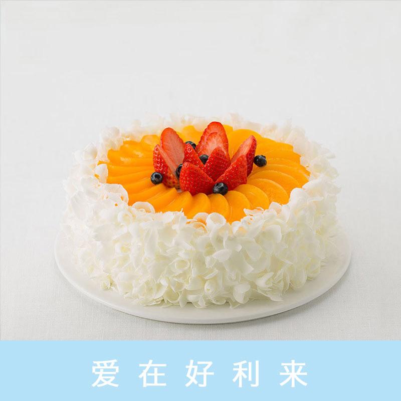 好利来蛋糕/蜜桃轻舞(8寸)