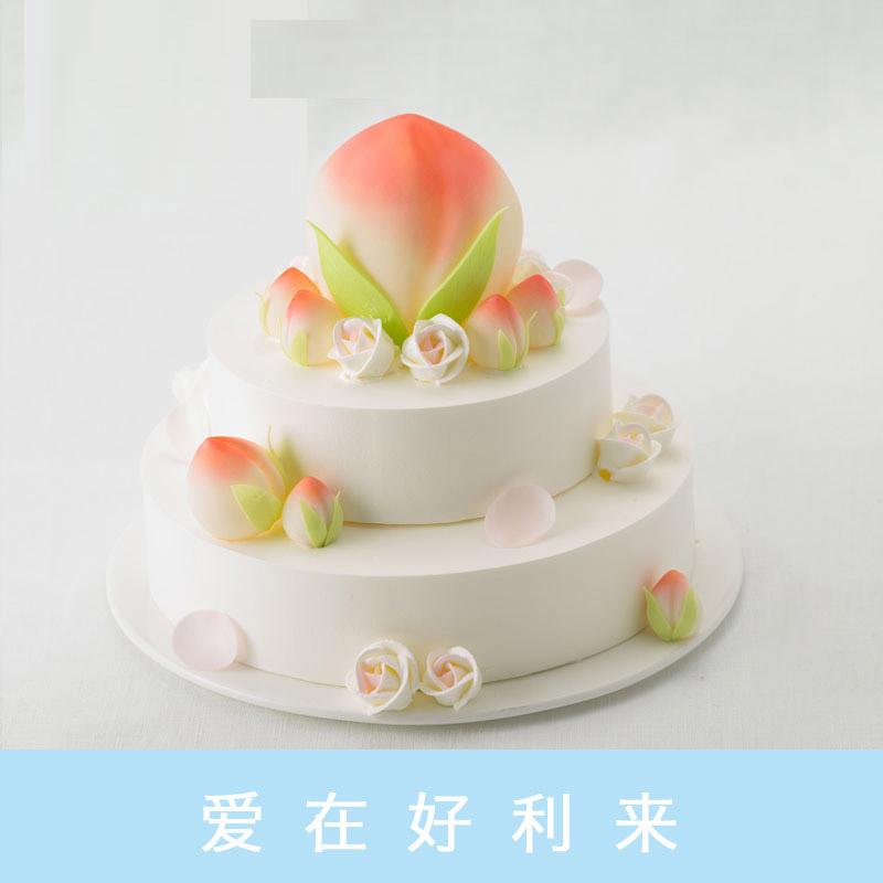 好利来蛋糕/大爱无疆(10寸+6寸)