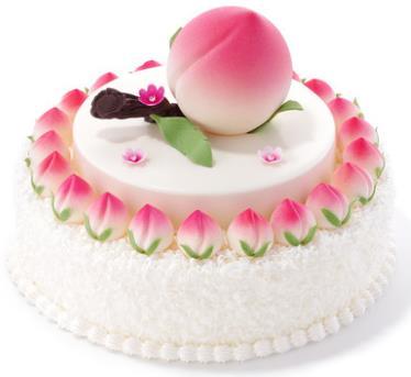 好利来蛋糕/蟠桃捧日