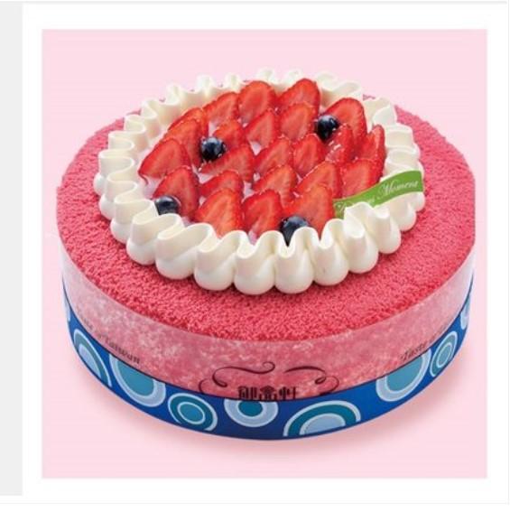西安御品�蛋糕 莓��之�s(6寸)