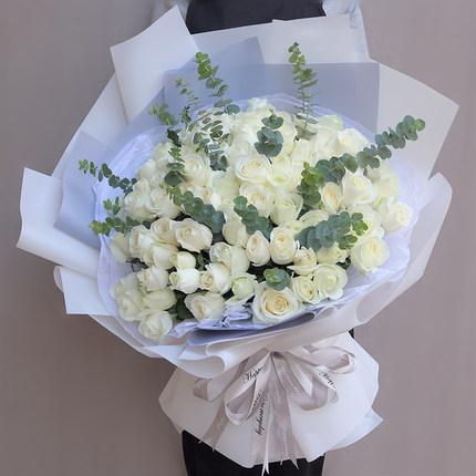 99朵白玫瑰 /深情表白
