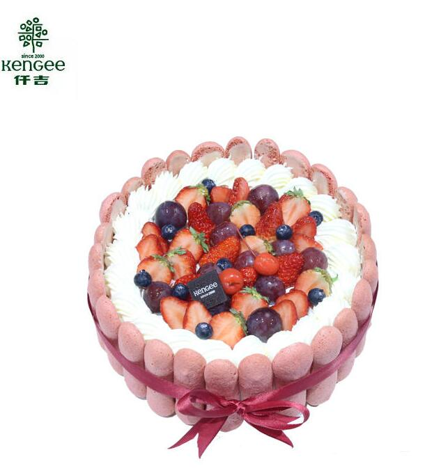 manbetx体育 红树林手指饼干生日蛋糕