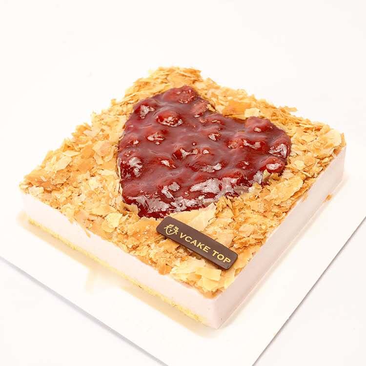 西安vcake蛋糕/草莓慕斯(6寸/1.5磅)