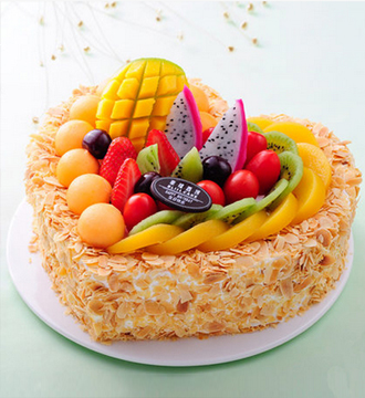 水果蛋糕/美好祝愿