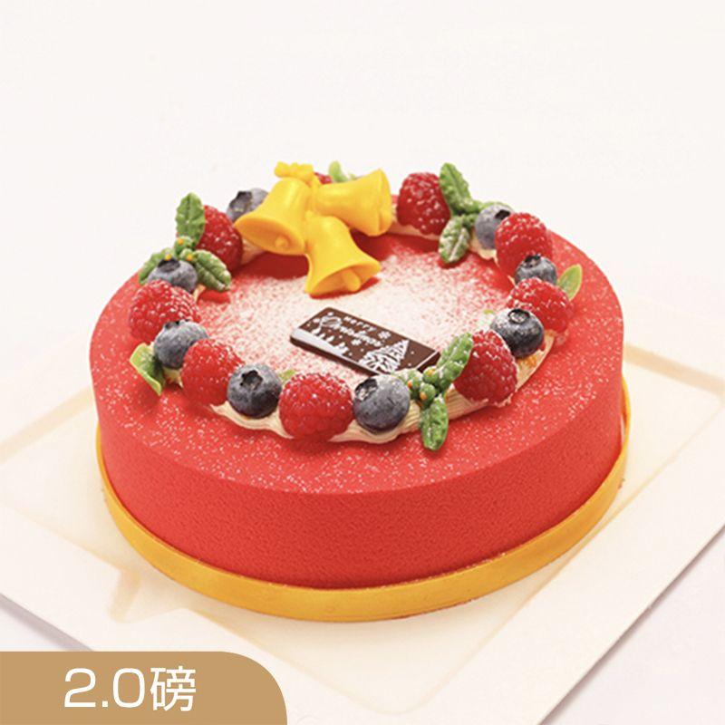 西安vcake蛋糕/莓好时光(8寸/2磅)