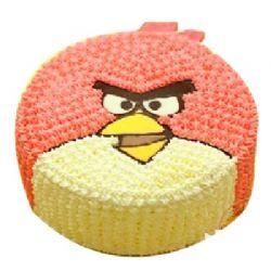 鮮奶蛋糕/憤怒的小鳥: 卡通鮮奶蛋糕,中間夾心鮮奶,表面再用卡通及水果裝飾。(僅限大城市)