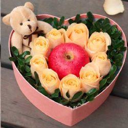 圣�Q�r花/9朵香��玫瑰