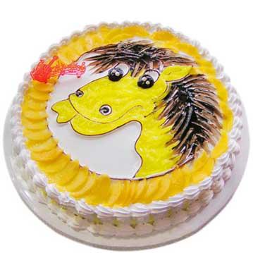 鲜奶蛋糕/小马奔腾