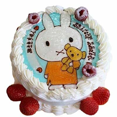 鲜奶蛋糕/乖乖兔