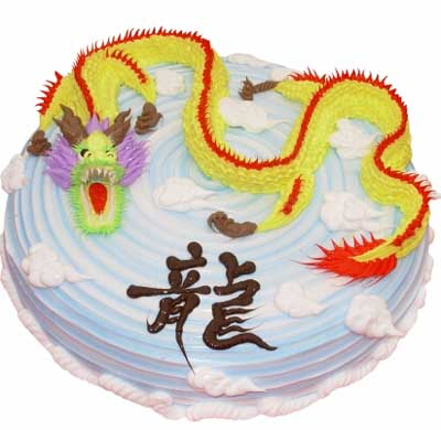 鲜奶蛋糕/金龙腾飞(10寸)