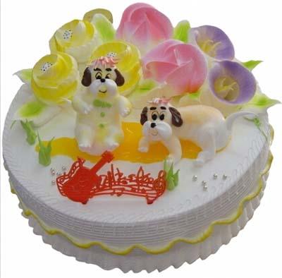 鮮奶蛋糕/歡樂狗
